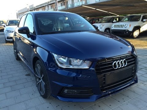 audi a1 sportback 1 4 tdi 90cv ultra s line km0 blu scuba. Black Bedroom Furniture Sets. Home Design Ideas