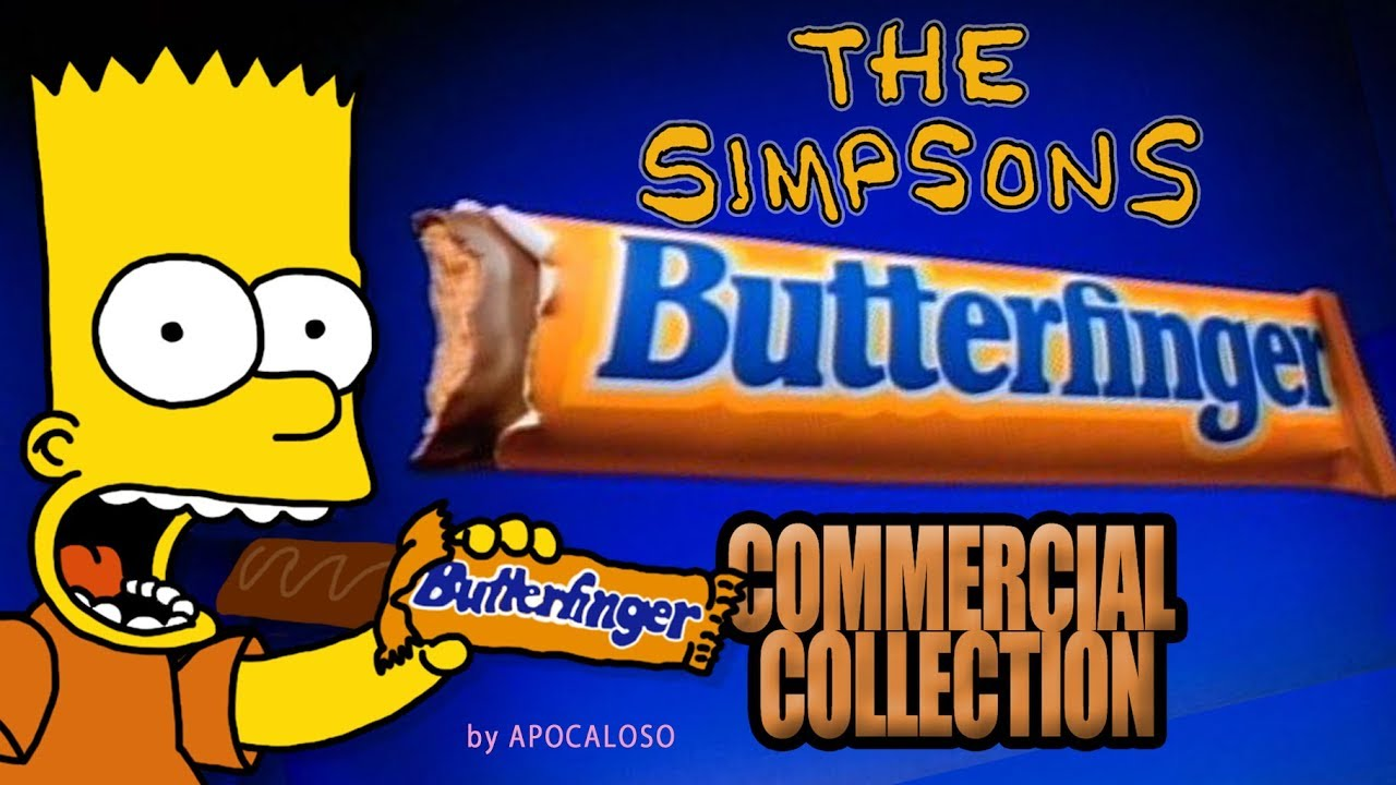Download The Simpsons - ALL Butterfinger Commercial Collection (1988 - 2001)