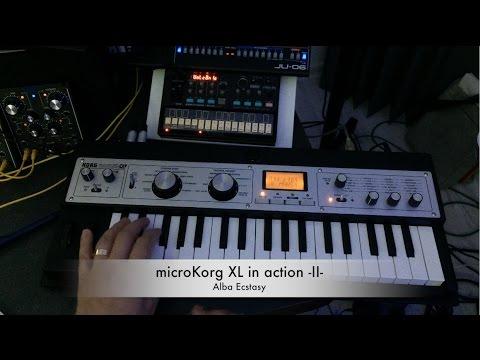 microKorg XL in action - part II