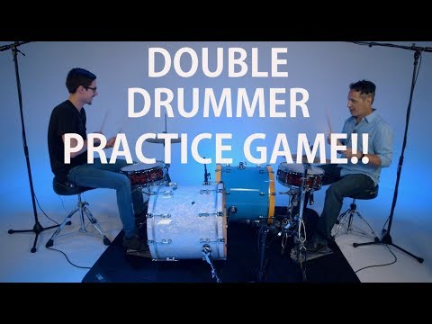 Double Drummer Practice Game! Ft. Nick D Virgilio - FREE Drum Lesson