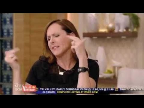 Molly Shannon Complete Interview on Live with Kelly and Ryan