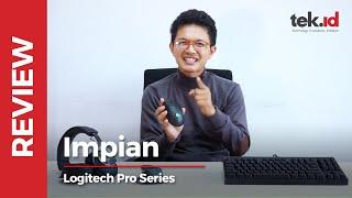 Nyobain mouse pilihan Shroud - Logitech Pro Series
