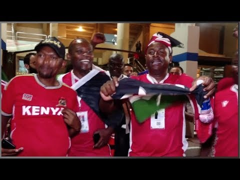 KENYA BEATS TANZANIA 3-2!MASSIVE CELEBRATIONS IN EGYPT!