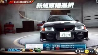 initial d arcade stage8 lancer evolution v rs cp9a