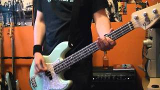 Blink 182 Happy Holidays You Bastard Bass Cover On New Fender Mark Hoppus Bass 2011