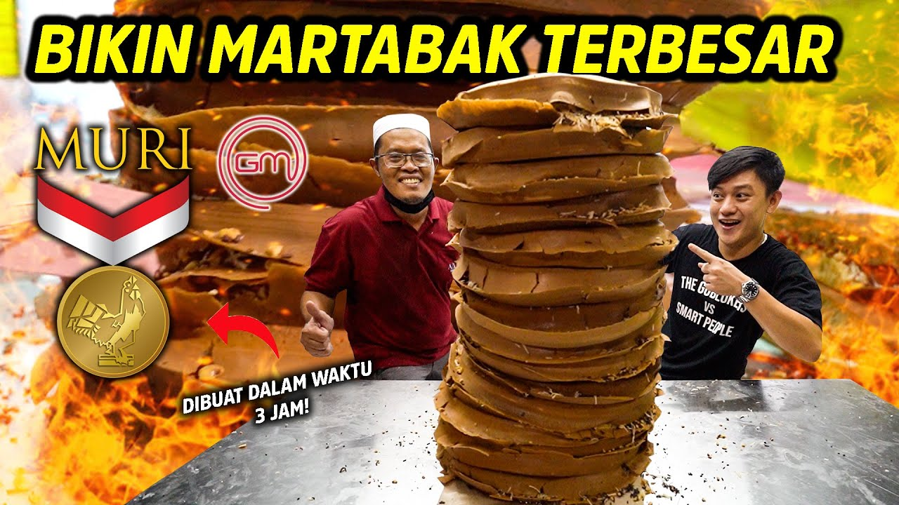 GEREBEK TUKANG MARTABAK! MINTA BIKININ MARTABAK SULTAN TERMAHAL 1M!!!
