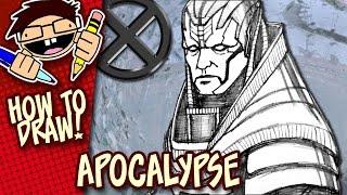How to Draw APOCALYPSE (X-MEN: APOCALYPSE) Step-by-Step Drawing Tutorial