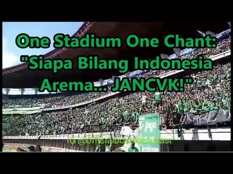 One Stadium One Chant! Bonek: