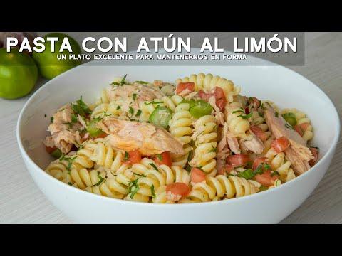 COMO PREPARAR ATÚN CON PASTA AL LIMÓN | COMIDA PERUANA | ACOMER.PE