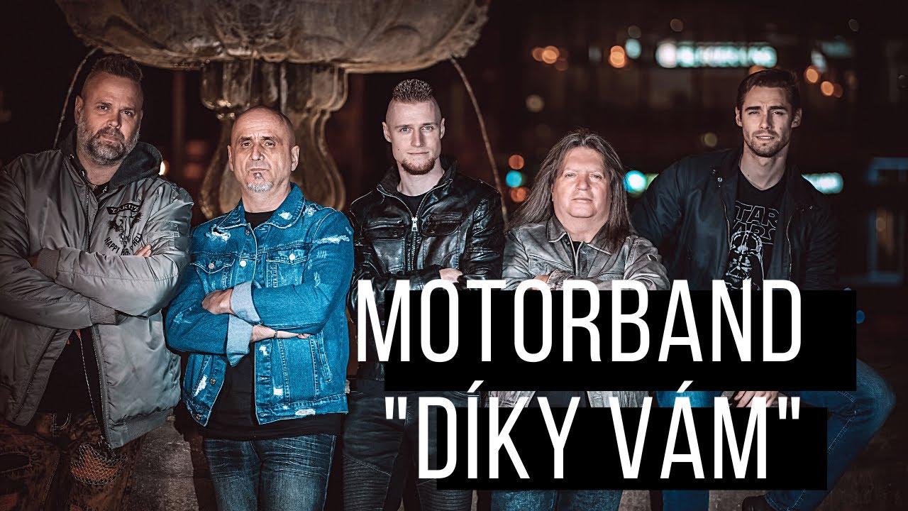Motorband - Díky vám (Official Music Video)