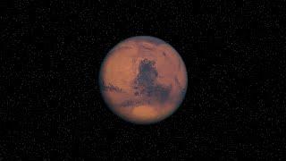 Mars Rotation Animation HD