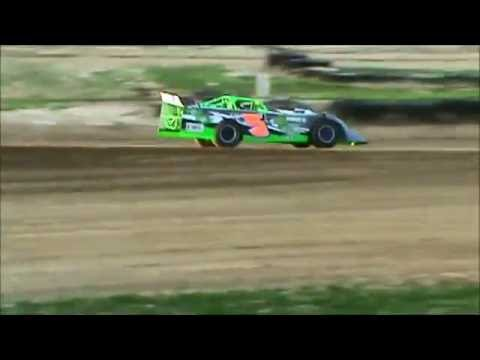 JOSH JACKSON RACING SPOON RIVER SPEEDWAY 3RD PLACE HEAT RACE 7 9 16