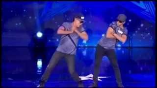 Por momentos parecen robots  estos 2 bailarines en Mexico tiene Talento( YIAN & FUNK POPPER)