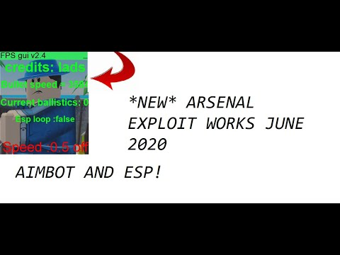 *NEW* ARSENAL AIMBOT AND ESP -WORKS JULY 2020-