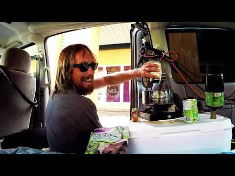 Making Some Chili In My Stealth Van #Vanlife