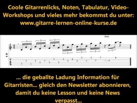Noten & TABs für E-Gitarre / Gitarre kostenlos downloaden