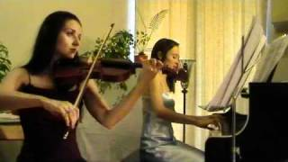 Canon In D - Pachelbel - Piano And Violin
