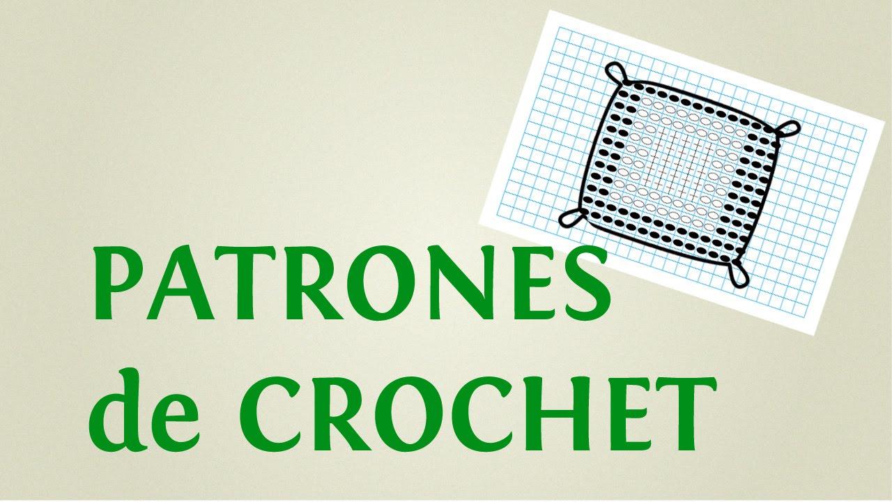 Cómo hacer patrones a crochet: gráficos de crochet para imprimir y ...