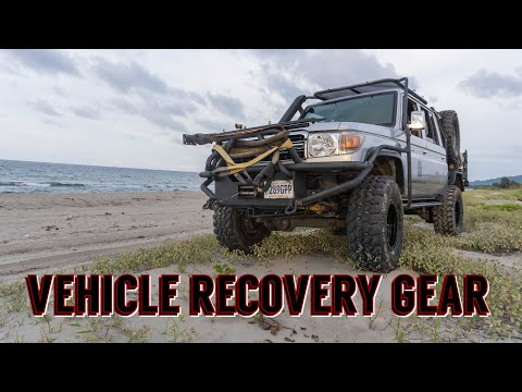 Bugout Truck Self Recovery Gear & On-board Equipment
