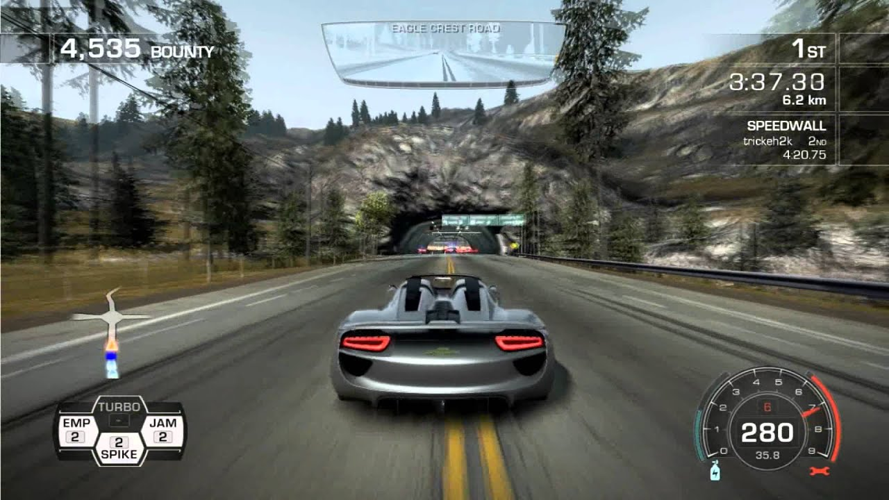 need for speed hot pursuit avalanche porsche 918 spyder concept study youtube. Black Bedroom Furniture Sets. Home Design Ideas