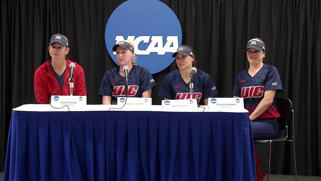 UIC Softball NCAA Regionals - Postgame Interview - YouTube