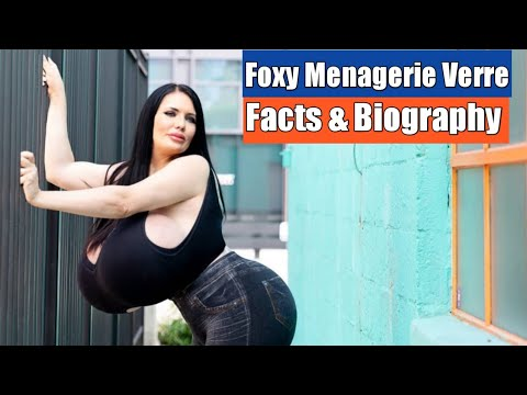 Download Foxy Menagerie Verre Biography and Facts Plus Size Model Lifestyle WikiInstagramStar,TOPMODELSFACTS