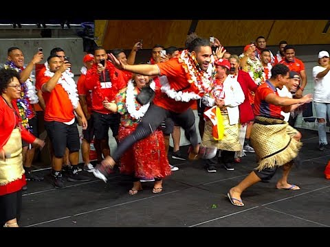 MATE MA'A TONGA National Rugby League Team Welcome   Manukau NZ 25