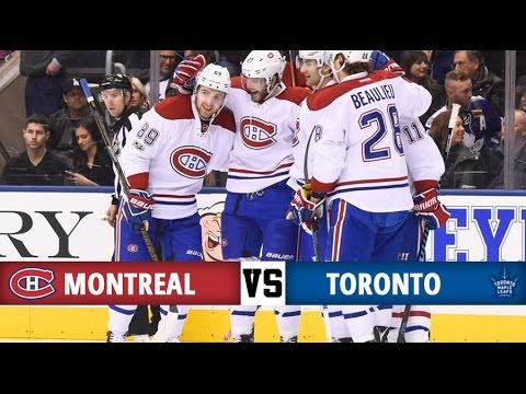 Montreal Canadiens vs Toronto Maple Leafs | Season Game 62 | Highlights (25/2/17)