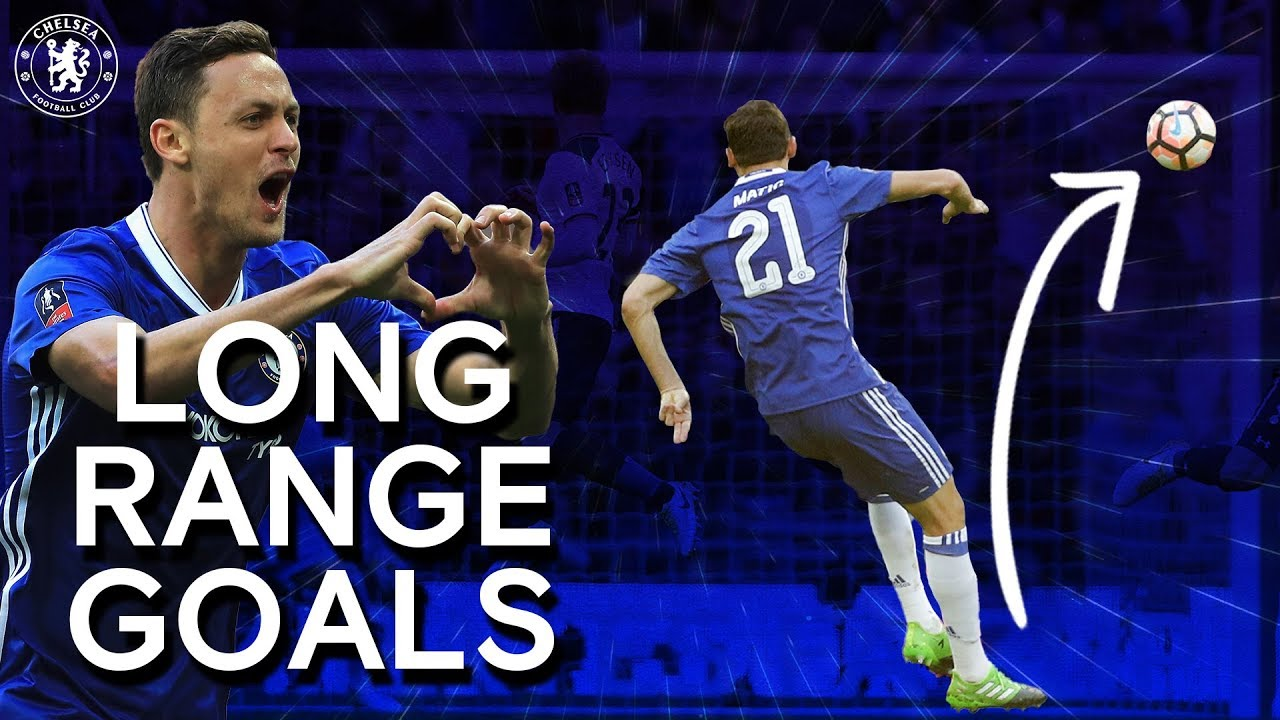Chelsea's Most Memorable Long Range Goals | Frank Lampard, Drogba, Eden Hazard & More