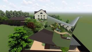видео 3D моделирование ландшафтного дизайна