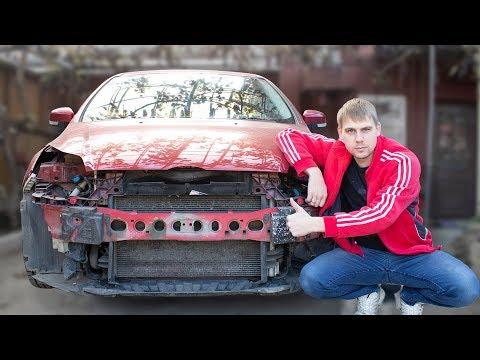 Замена бампера на форд фокус III. Кот суицидник разбил бампер (никто не пострадал)