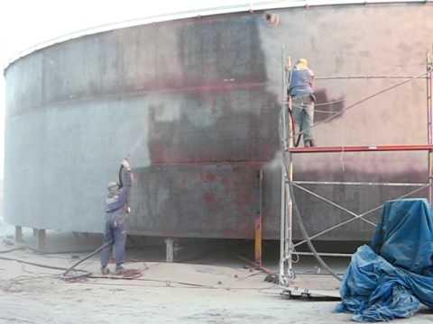 Lupat ingenieria arenado o chorreado abrasivo youtube - Chorreado de arena ...