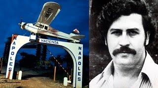 Lo que queda de la Hacienda Nápoles de Pablo Escobar