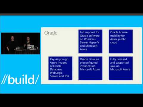 Build 2014 Running Java and Oracle Applications on Azure