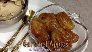 Caramel Apples Tefal Actifry Recipe cheekyricho recipe