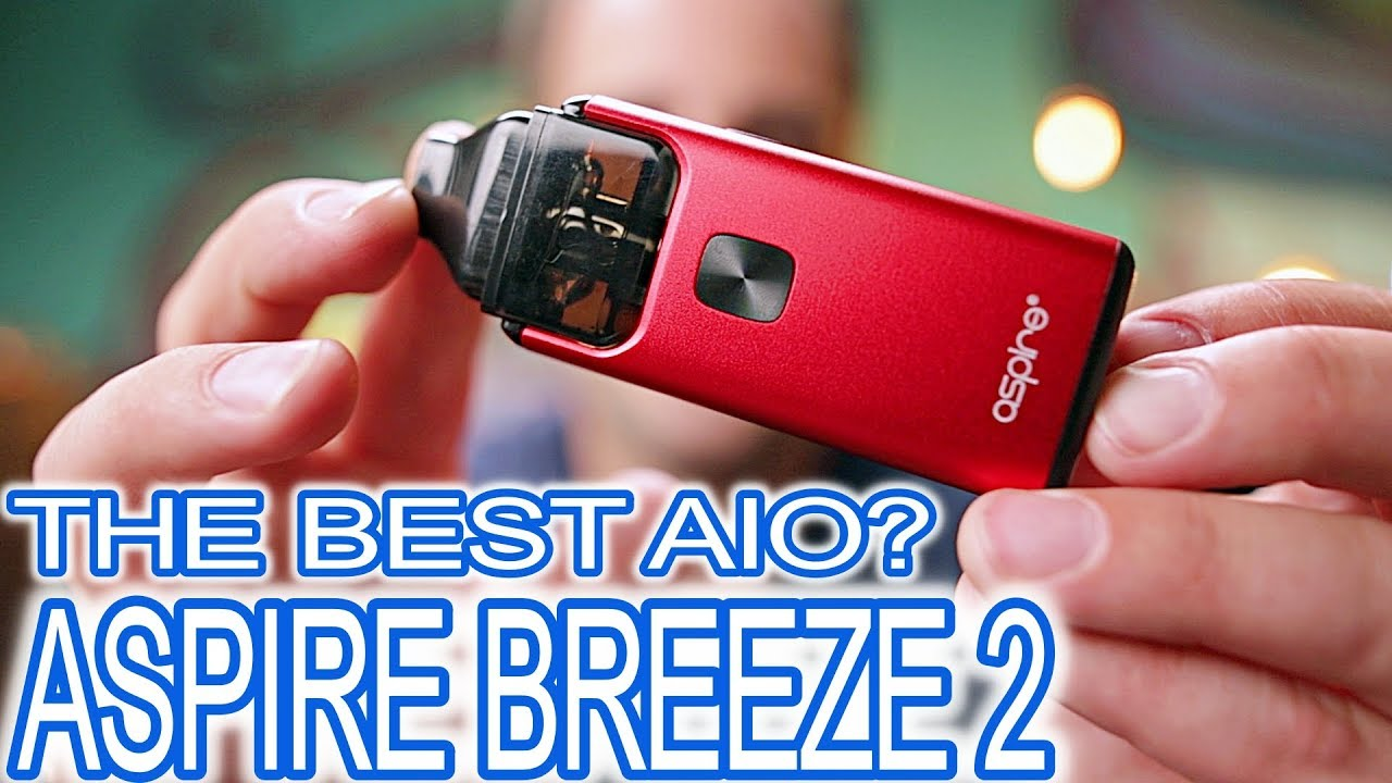 The Perfect Option For Any Vaper - Aspire Breeze 2 AIO Review