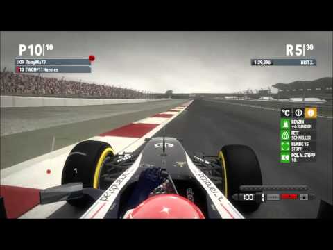 F1 2012 WCOF1 Season 4 Race 9 - Buddh International Circuit