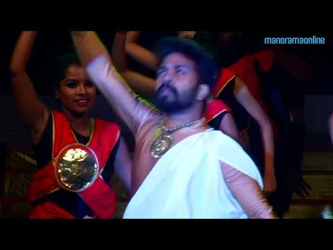 Martial art-dance fusion by Sreejith & Dancity team
