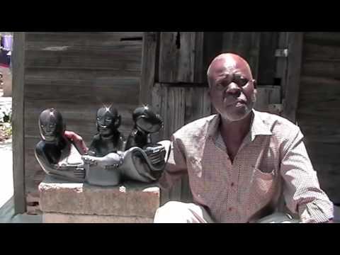 "http://www.guruve.com Shona sculpture ""Family"" by Zimbabwean artist Sylvester Mubayi.m4v"