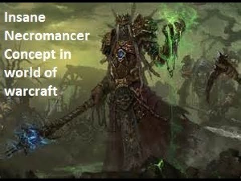 Whatever Wednesdays - Insanely detailed Necromancer concept in WOW