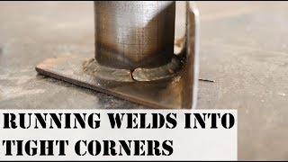 HOW TO GET YOUR WELDS INTO TIGHT GAPS/ ROLL CAGE WELDING
