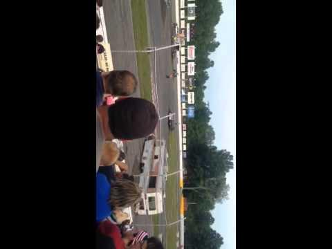 Lake county Speedway Purge scene