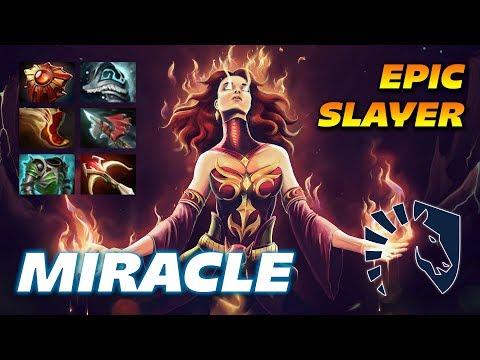 MIRACLE LINA EPIC SLAYER - Dota 2 Pro Gameplay