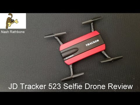 JXD Tracker 523 Selfie Drone Review