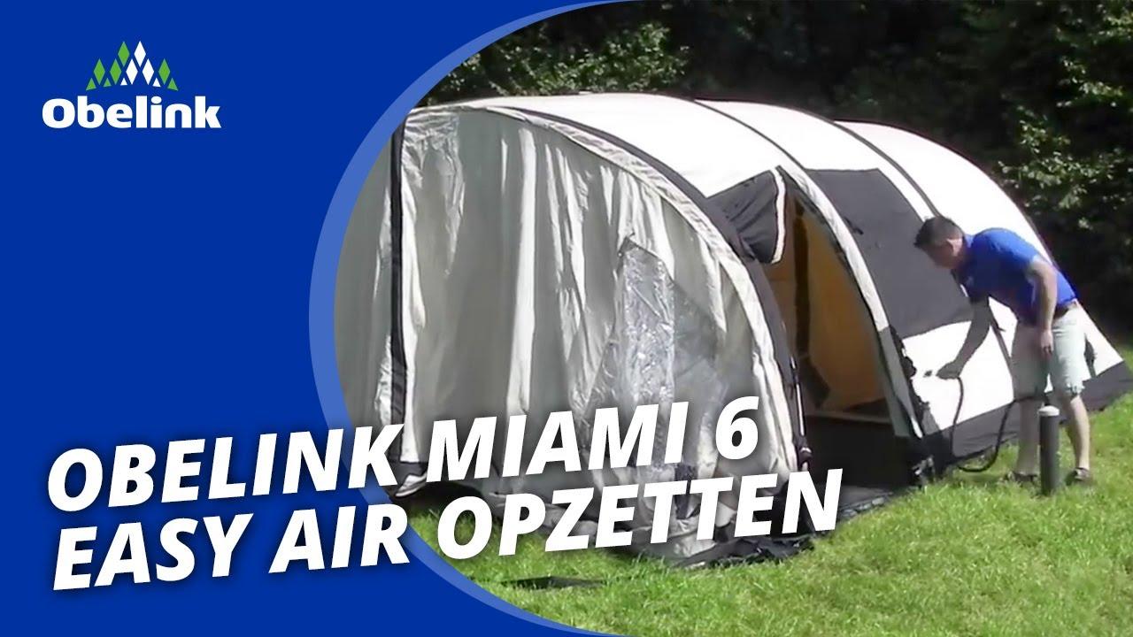 Wonderbaar Obelink Miami 6 Easy Air - Opbouwinstructie - Hoe zet ik een GX-92