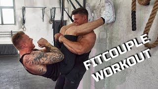 FITCOUPLE WORKOUT - Smartgains & Schmale Schulter