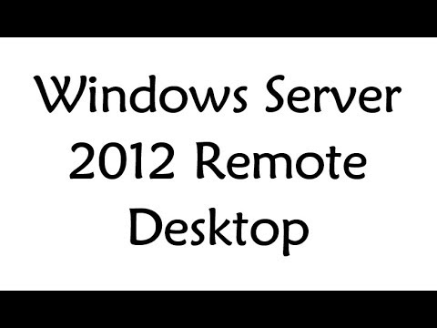 Windows Server 2012 Remote Desktop Service RDWeb