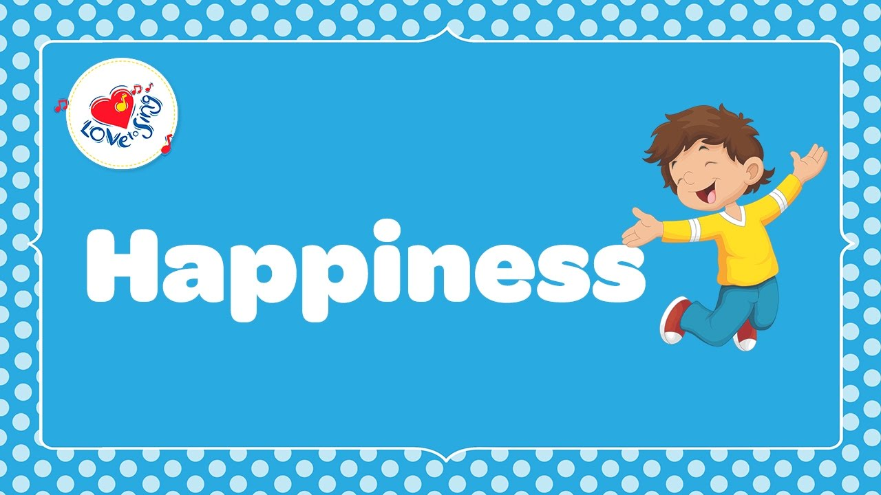 Happiness is Something If You Give it Away with Lyrics ???? | Children Love to Sing