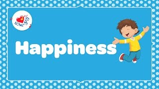 Happiness is Something If You Give it Away with Lyrics 😄 | Children Love to Sing