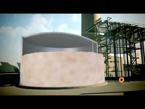Torresol Gemasolar 17.5MW Solar Thermal Power Tower with Heliostat Mirror Field - Masdar / SENER